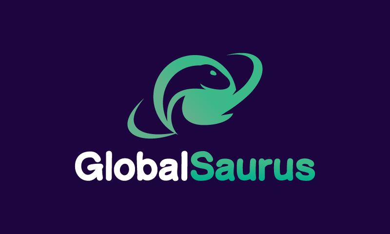 Globalsaurus - Social startup name for sale