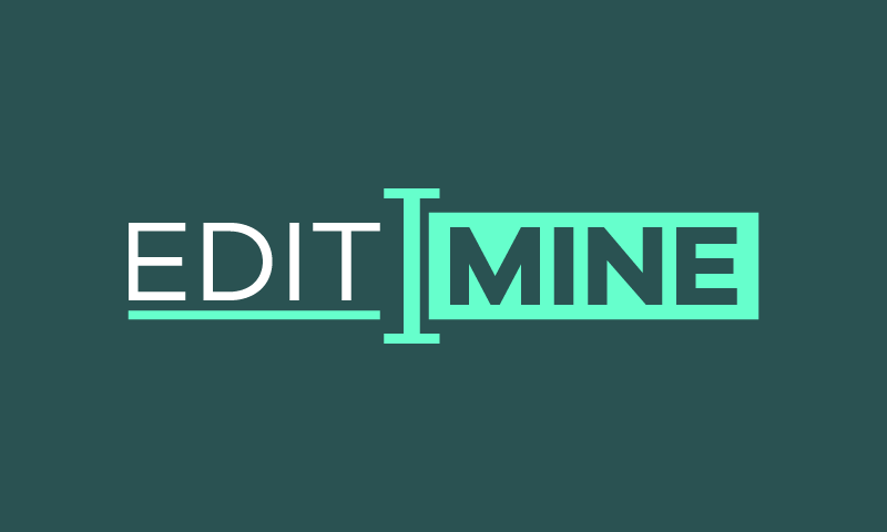 Editmine - Writing domain name for sale