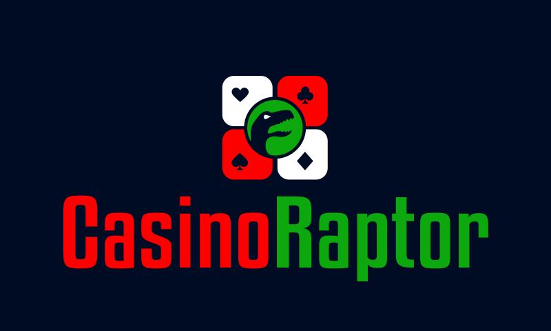 Casinoraptor - Betting domain name for sale