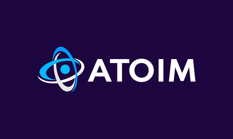 Atoim - Business brand name for sale