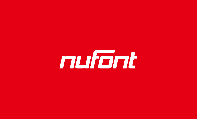 Nufont - Design product name for sale