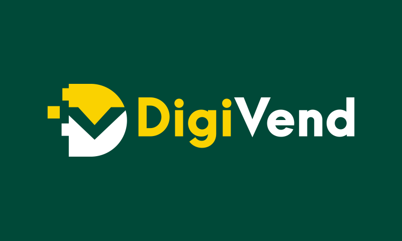 Digivend - Technology startup name for sale
