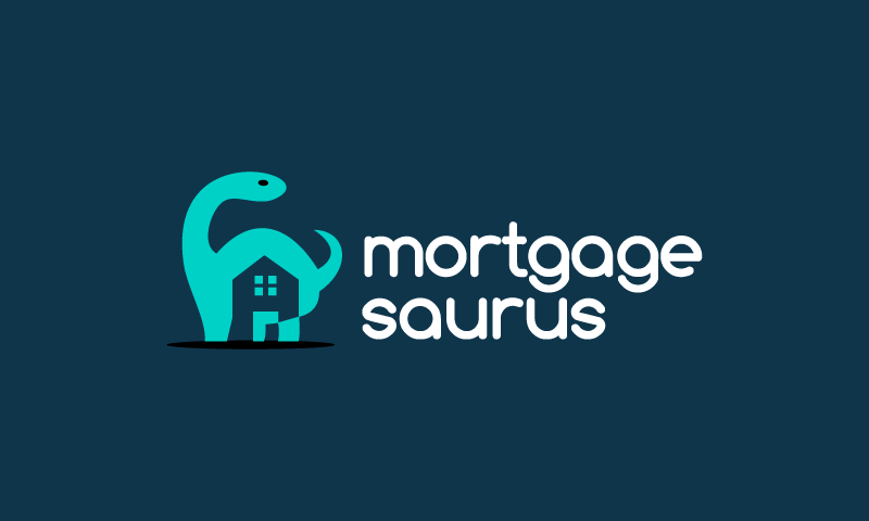 Mortgagesaurus - Real estate business name for sale