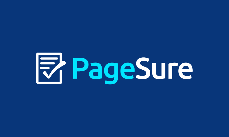 Pagesure - Marketing startup name for sale