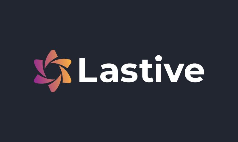 Lastive - E-commerce business name for sale