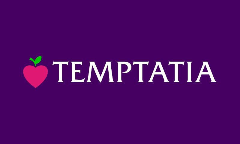 Temptatia - Approachable brand name for sale