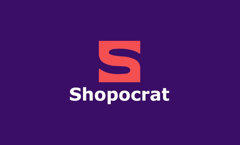 Shopocrat - E-commerce company name for sale