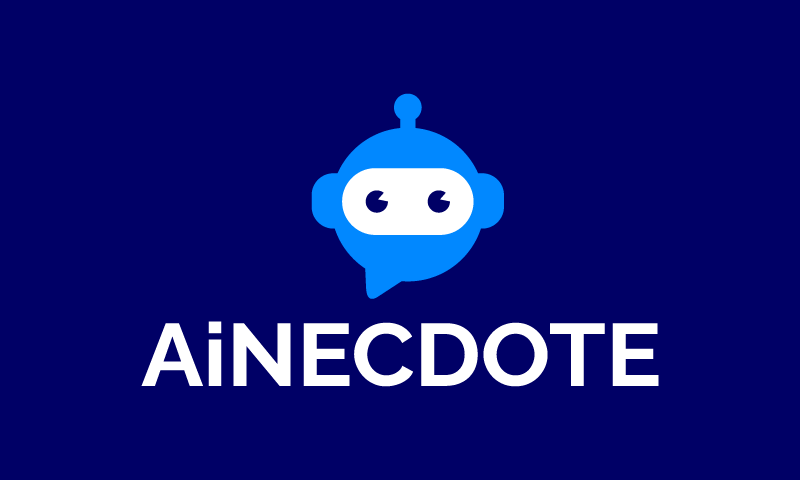 Ainecdote - Artificial Intelligence business name for sale