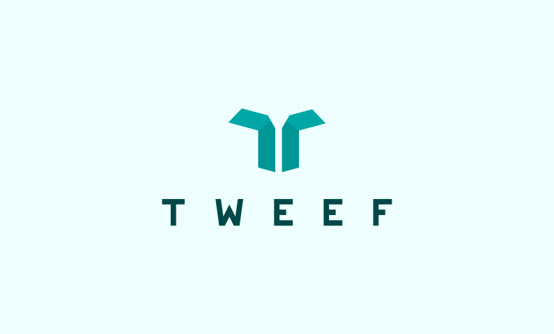 Tweef - Original 5-letter domain name