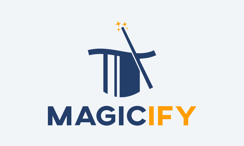 Magicify - Modern startup name for sale