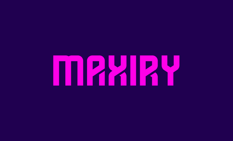 Maxiry - Business domain name for sale
