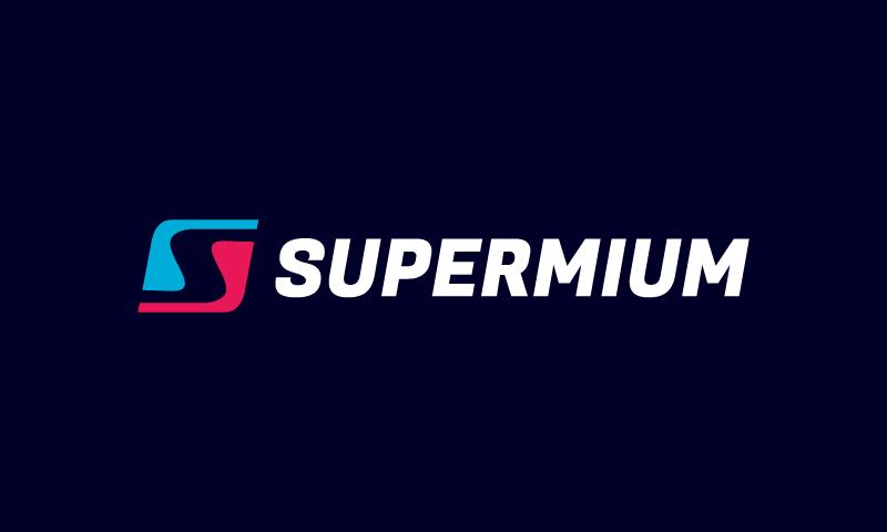 Supermium - Media brand name for sale