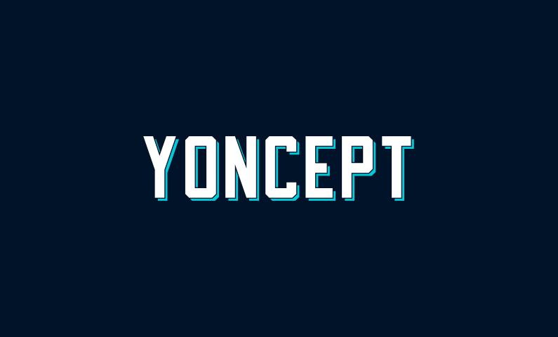 yoncept - Highly brandable domain name