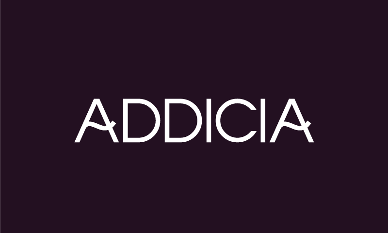 Addicia - Technology startup name for sale