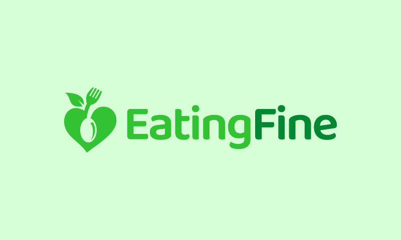 Eatingfine - Dining startup name for sale