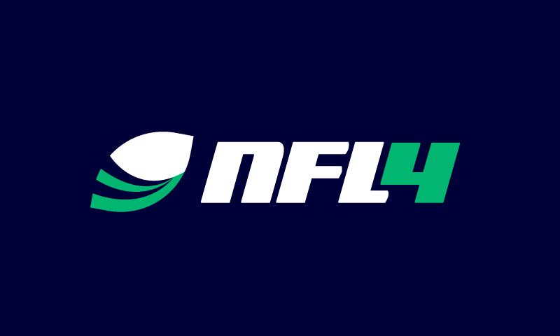 Nfl4 - E-commerce domain name for sale