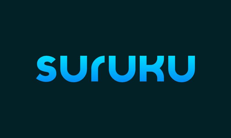 Suruku - Brandable business name for sale
