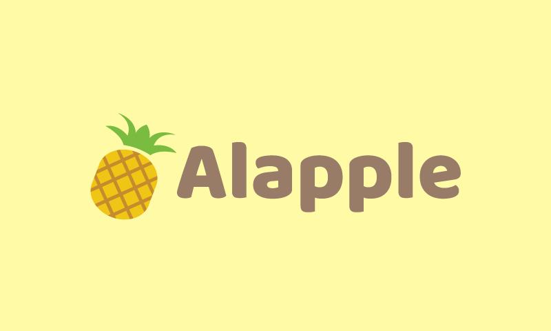 Alapple - Health company name for sale