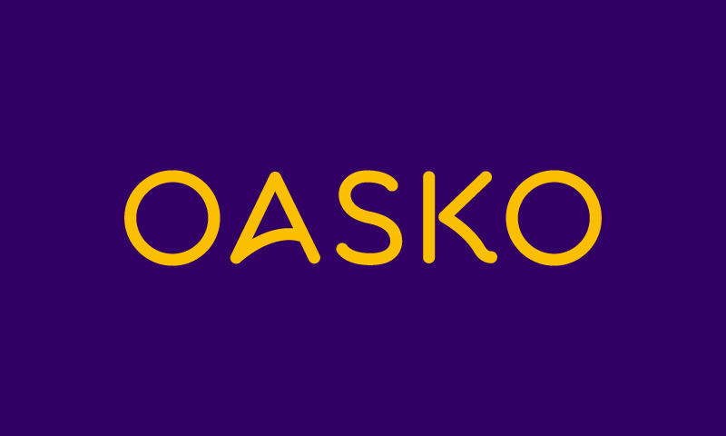 Oasko - Contemporary brand name for sale