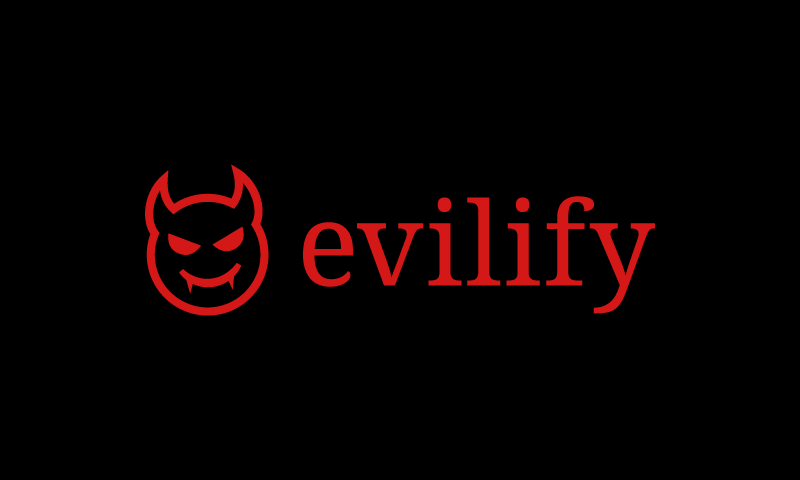 Evilify - Retail company name for sale