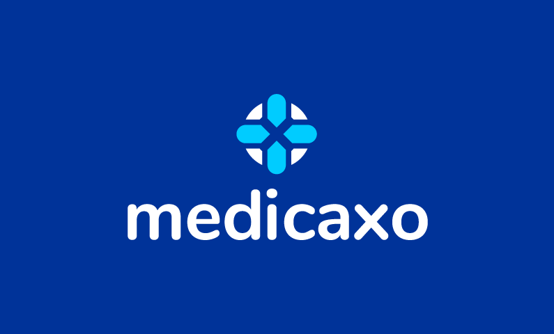 Medicaxo - Healthcare domain name for sale