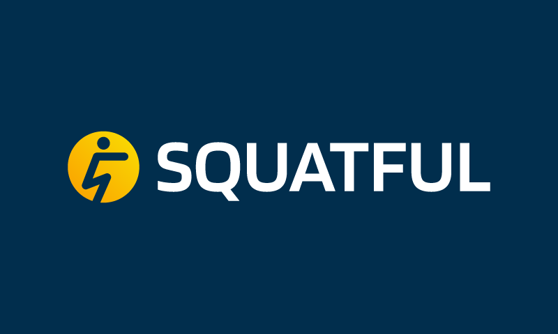 Squatful - Exercise startup name for sale