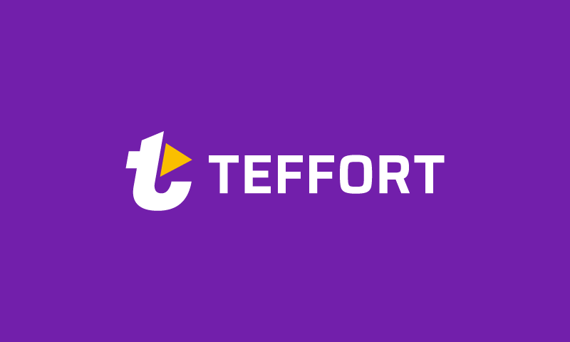 Teffort - Marketing company name for sale