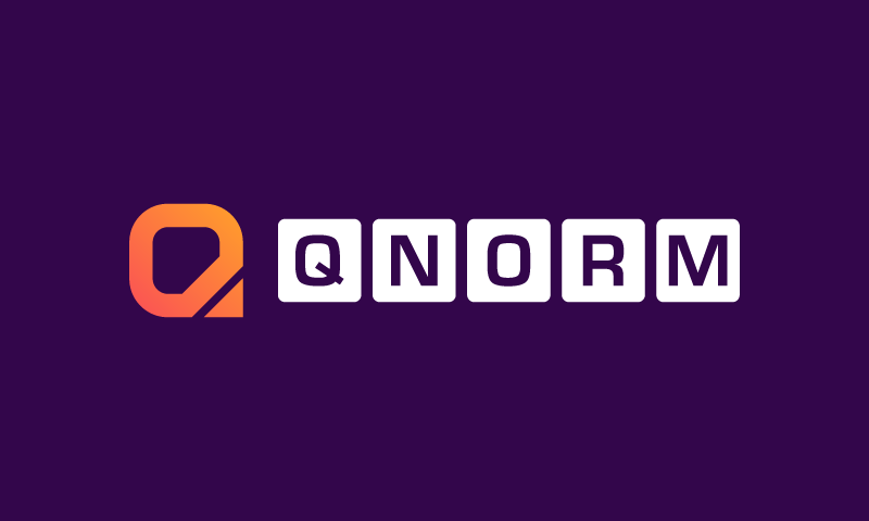 Qnorm - Invented company name for sale