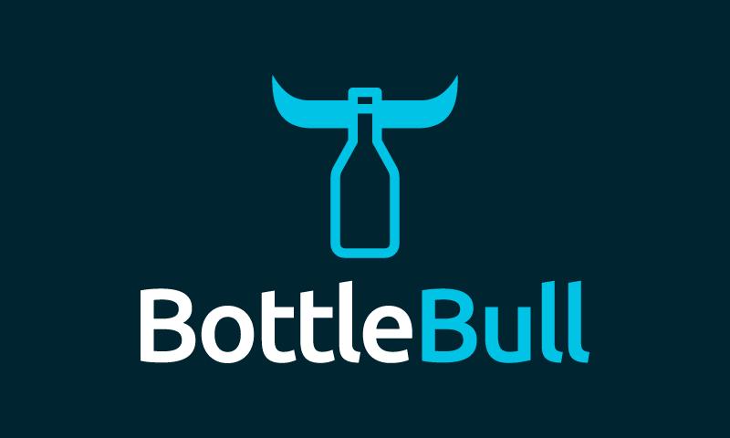 Bottlebull - Food and drink startup name for sale