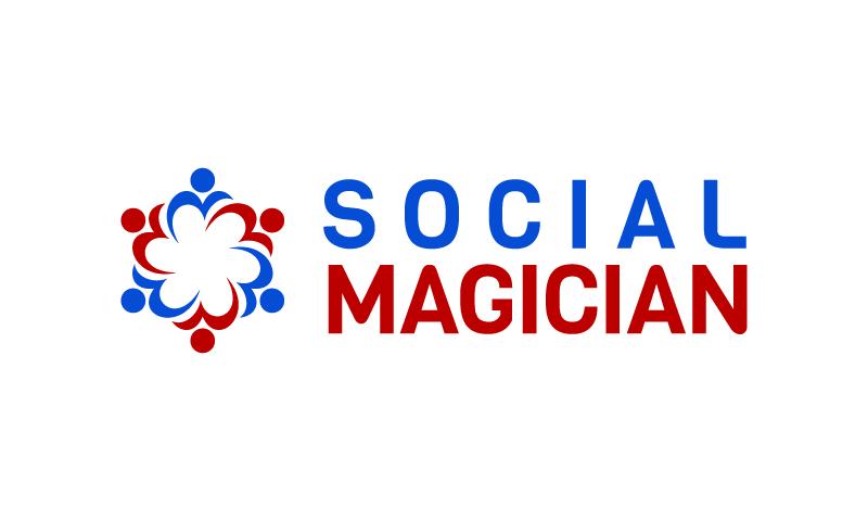 Socialmagician - Social business name for sale