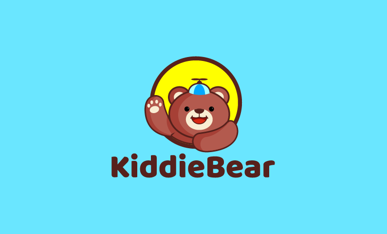 Kiddiebear - E-learning business name for sale