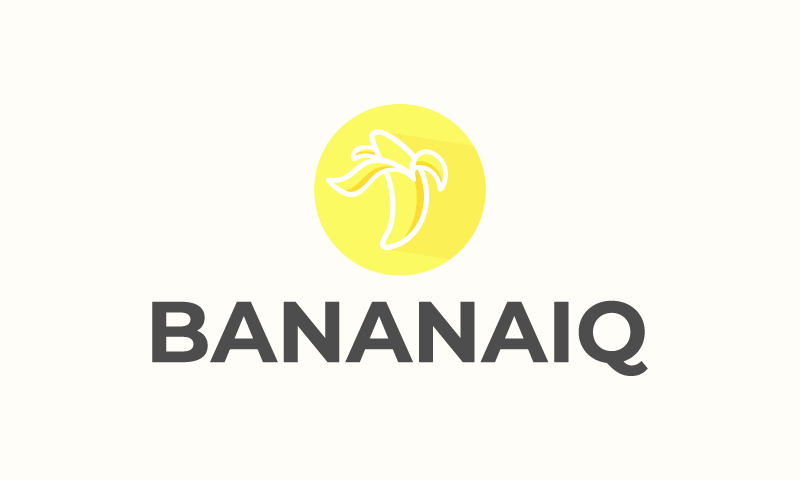 Bananaiq - Technology startup name for sale