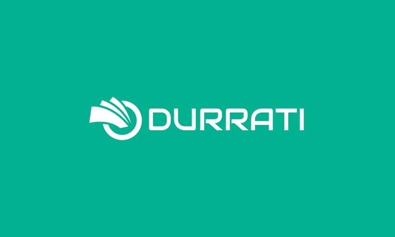 Durrati - Modern domain name for sale