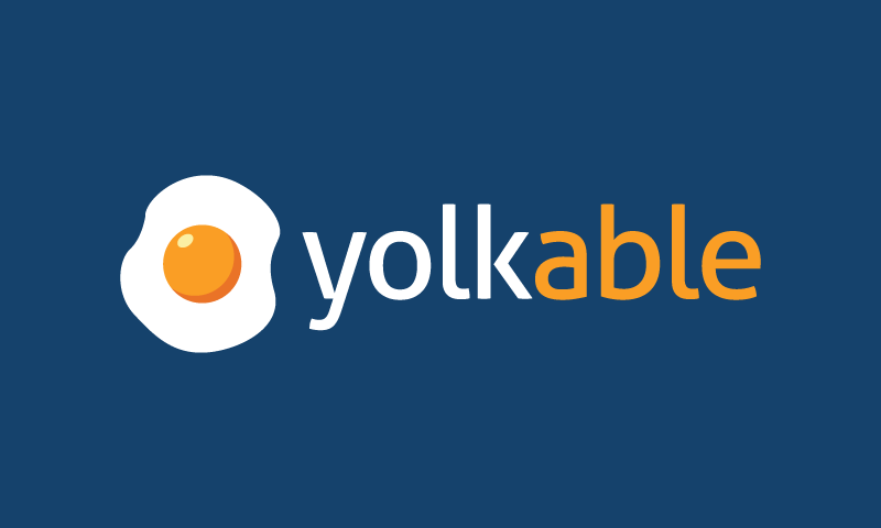 Yolkable - Food and drink product name for sale