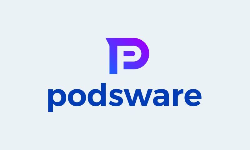 Podsware - Retail domain name for sale