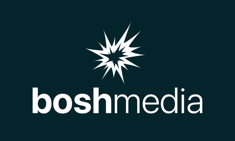 Boshmedia - Media company name for sale