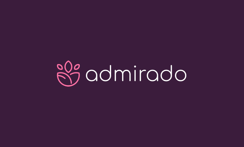 admirado logo - Inspirational business name