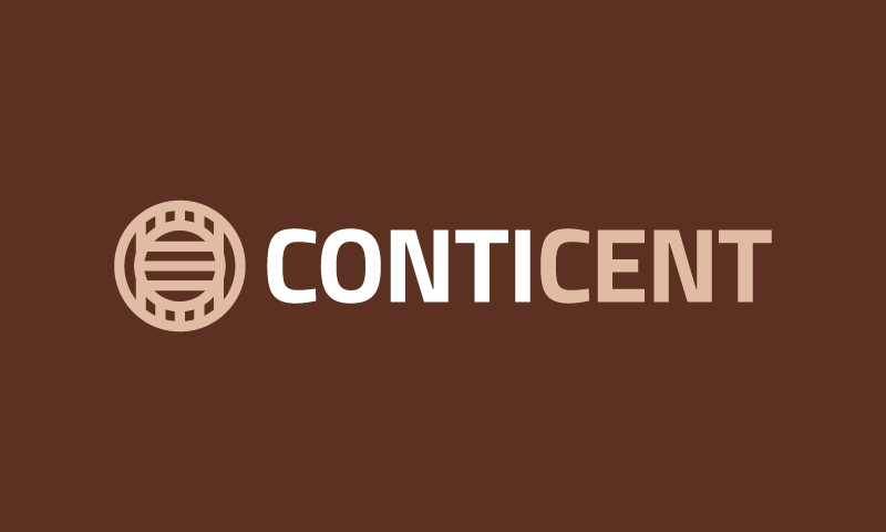 Conticent - Modern company name for sale