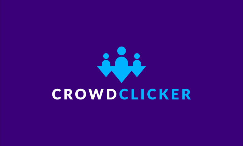 Crowdclicker - Crowdsourcing business name for sale