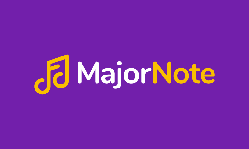 Majornote - Business company name for sale