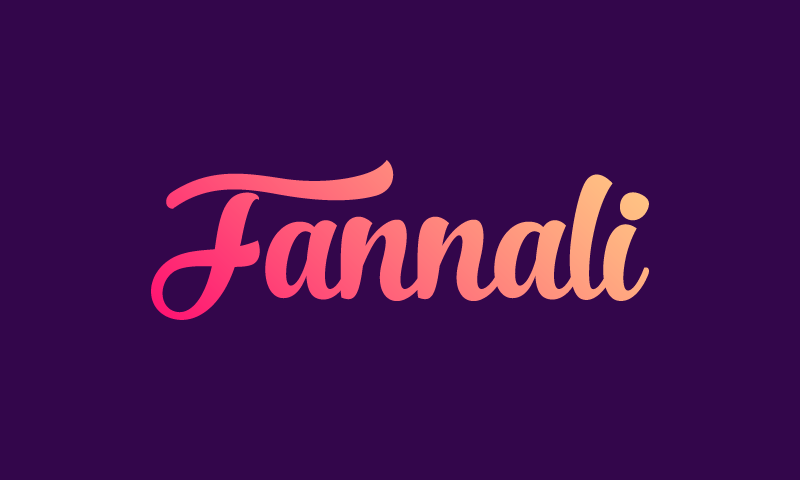 Fannali - E-commerce startup name for sale