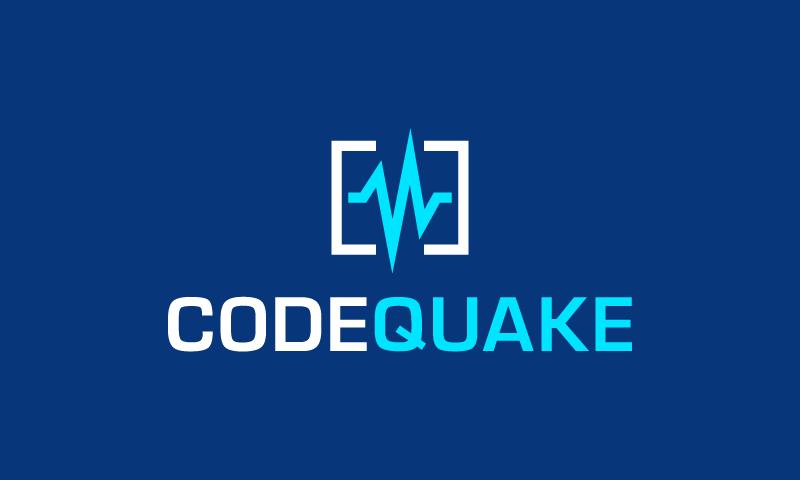 Codequake - Technical recruitment company name for sale
