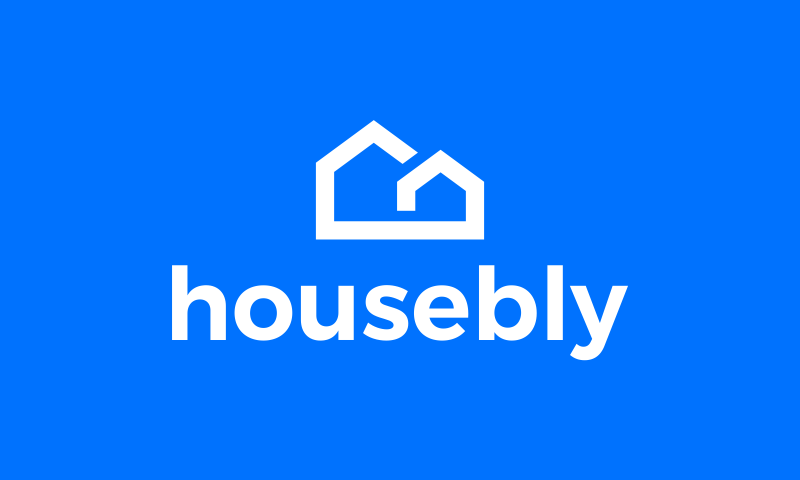 Housebly - Real estate brand name for sale