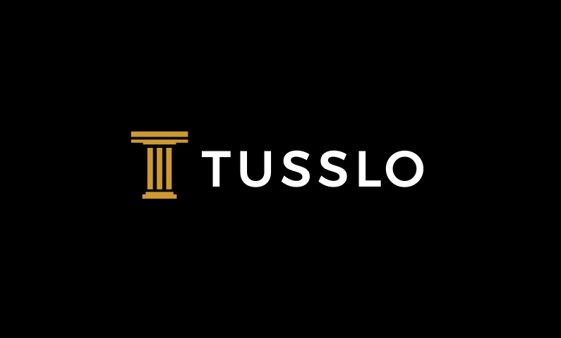 tusslo logo - Original 6-letter domain name