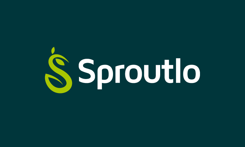 Sproutlo - Retail startup name for sale