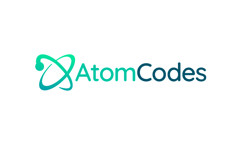 Atomcodes - Technical recruitment domain name for sale