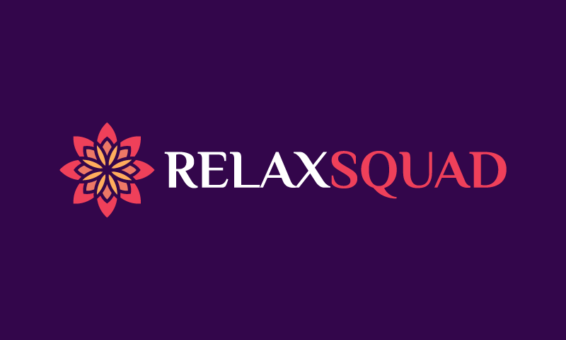 Relaxsquad - Healthcare company name for sale
