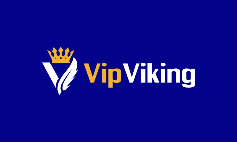 Vipviking - E-commerce company name for sale