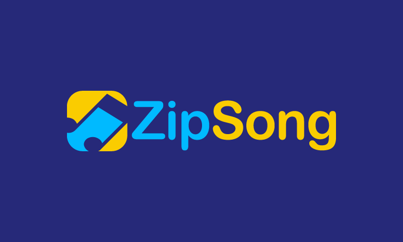 Zipsong - Software brand name for sale