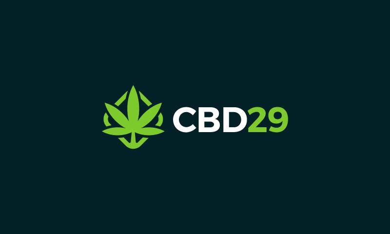 Cbd29 - Dispensary startup name for sale